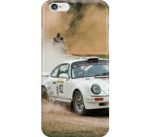 Kicking up dust 2 iPhone Case/Skin