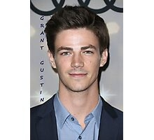 The wonderful Grant Gustin Photographic Print