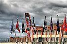 SEATTLE TEAMS FLAGS BASEBALL GAMES by karo