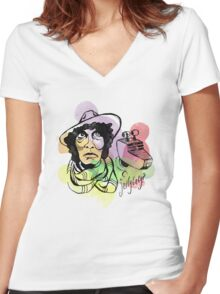 Jellybaby? Women's Fitted V-Neck T-Shirt