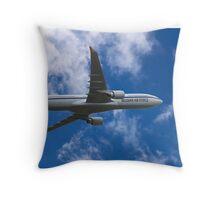 Belgian Air Force Airbus A330-300 Throw Pillow