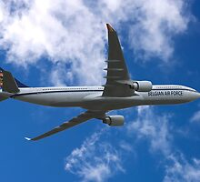Belgian Air Force Airbus A330-300 by yeamanphoto