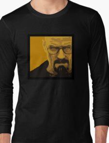 Walter White - Polygon Art Long Sleeve T-Shirt