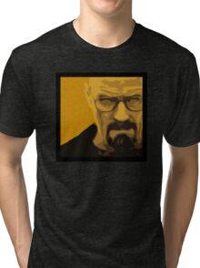 Walter White - Polygon Art Tri-blend T-Shirt