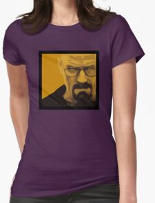 Walter White - Polygon Art Womens Fitted T-Shirt