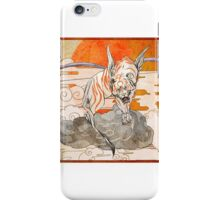 tiger chinese style iPhone Case/Skin