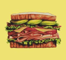 Turkey Bacon Avocado Sandwich One Piece - Short Sleeve