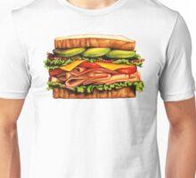 Turkey Bacon Avocado Sandwich Unisex T-Shirt