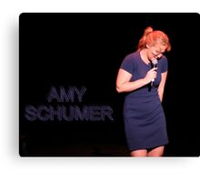 Amy Schumer Canvas Print