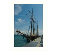19th Century Sailing Ship Art Print