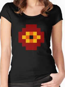Darkwraith ultra retro Women's Fitted Scoop T-Shirt