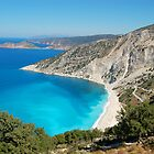 Myrtos Beach by Agnes McGuinness