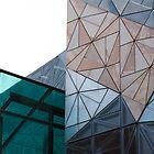Federation Square by Rosina lamberti