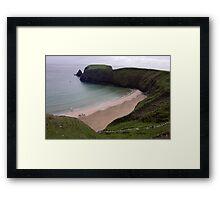 Silver Strand Beach  Nr. Teelin Co. Donegal Ireland Framed Print