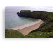 Silver Strand Beach  Nr. Teelin Co. Donegal Ireland Canvas Print