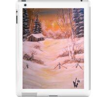 Snow Sunset Reflection iPad Case/Skin