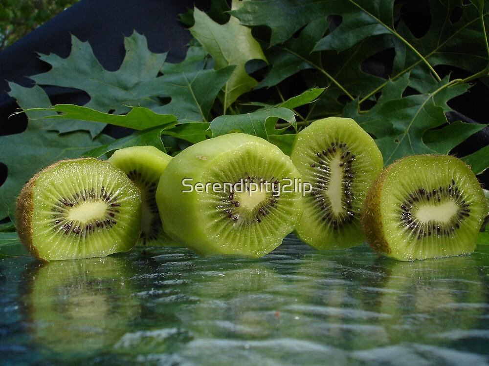Kiwi green by Serendipity2lip