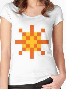 Warrior of Sunlight ultra retro Women's Fitted Scoop T-Shirt
