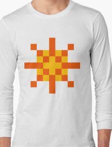 Warrior of Sunlight ultra retro Long Sleeve T-Shirt