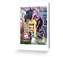 Fridge Magnet Greeting Card