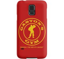 Gaston's Gym - Roughly the Size of a Barge Samsung Galaxy Case/Skin