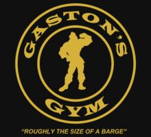Gaston's Gym - Roughly the Size of a Barge Kids Tee