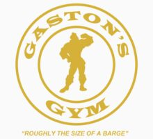 Gaston's Gym - Roughly the Size of a Barge Kids Clothes