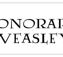 Honorary Weasley Sticker