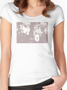 Playin in the Band 6 Women's Fitted Scoop T-Shirt