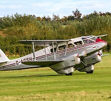 DH89A Dragon Rapide 6 G-AGSH  by Colin Smedley