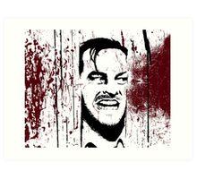 The Shining - Here's Johnny Art Print