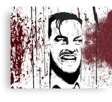 The Shining - Here's Johnny Metal Print