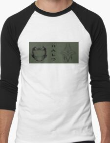 Clash of the Titans - Halo  Men's Baseball ¾ T-Shirt