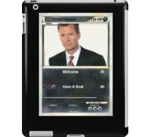 Chris hansen iPad Case/Skin