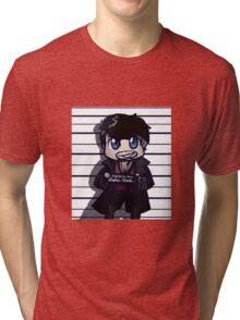 Captain Hook Mug Shot Tri-blend T-Shirt