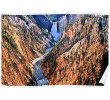 Grand Canyon of Yellowstone, Artist Point Poster
