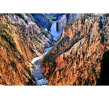 Grand Canyon of Yellowstone, Artist Point Photographic Print