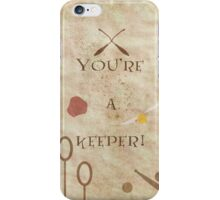Harry Potter inspired Valentine. iPhone Case/Skin
