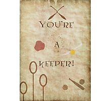 Harry Potter inspired Valentine. Photographic Print