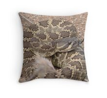 Rattle Snake Throw Pillow