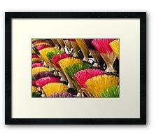 Incense (Hue, Viet Nam) Framed Print