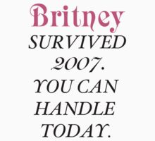 Britney Survived, Britney. T-Shirt