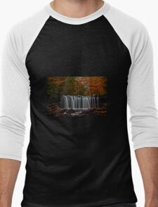 """ Beautiful Waters "" Men's Baseball ¾ T-Shirt"