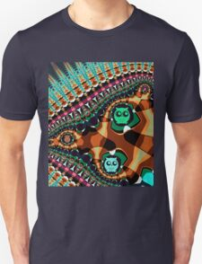 Patterns and Owls Unisex T-Shirt