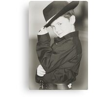 Eat your heart out Zorro!! Canvas Print