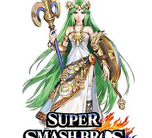 Super Smash Bros. 3DS/Wii U Palutena T-Shirt by KwanChau