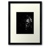 In The Shadows Framed Print