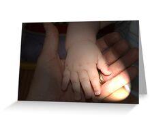 helping hand Greeting Card