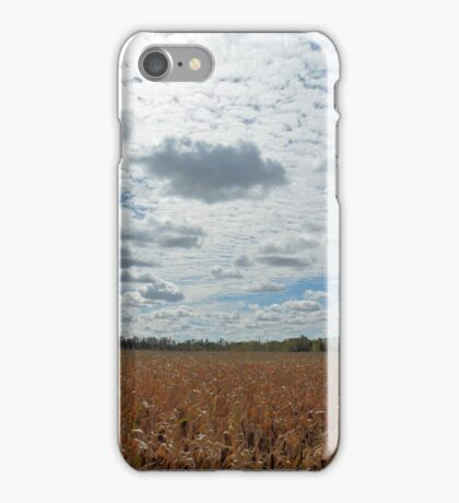 Bright Sky filled with Clouds - Landscape Photography iPhone Case/Skin