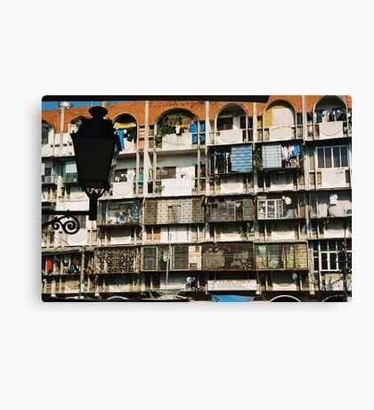 Residential Hanoi Canvas Print